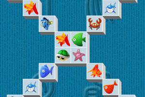 海底世界连连看小游戏