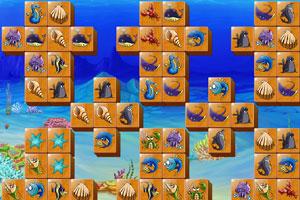 海洋生物连连看小游戏